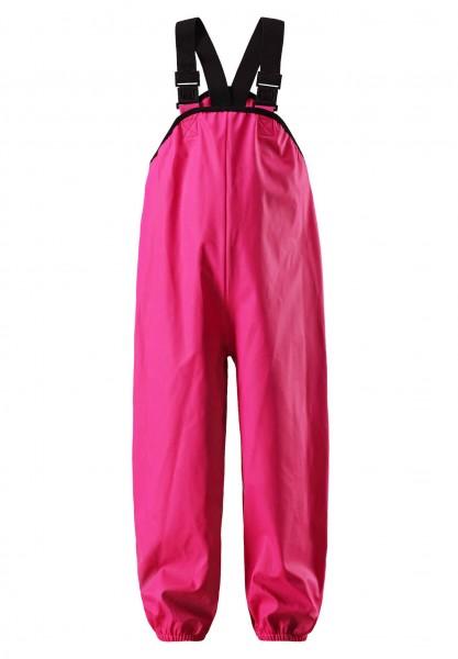 Reima LAMMIKKO pink Buddelhose Matschhose Regenhose mit Trägern