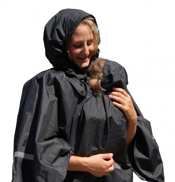 Rainkids Regenponcho für Tragetuch und Babytragen