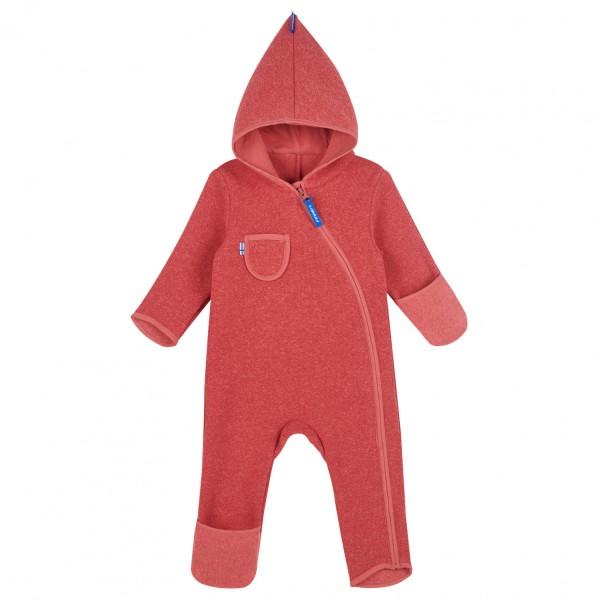 Finkid PUKU SPORT rose Baby Strickfleece Overall