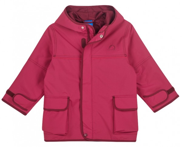 Finkid Jacke Tuulis persian red/cabernet Zip In Outdoorjacke atmungsaktiv