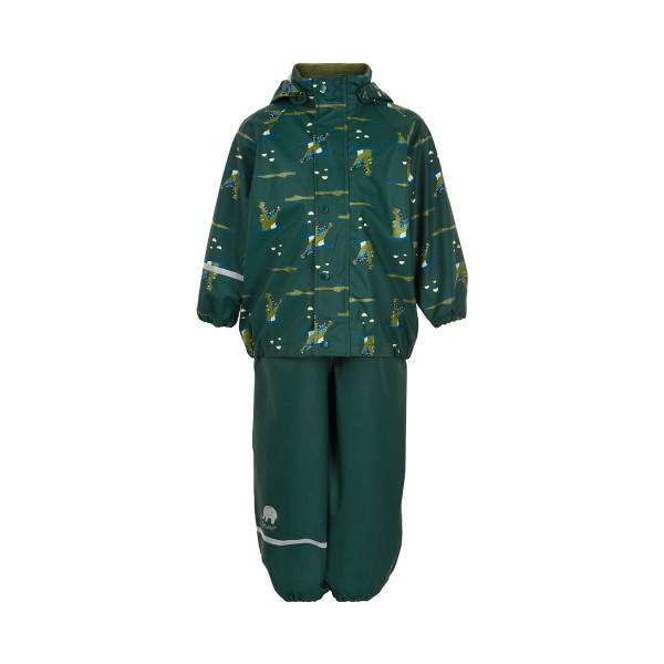 CeLaVi Regenanzug Krokodil grün