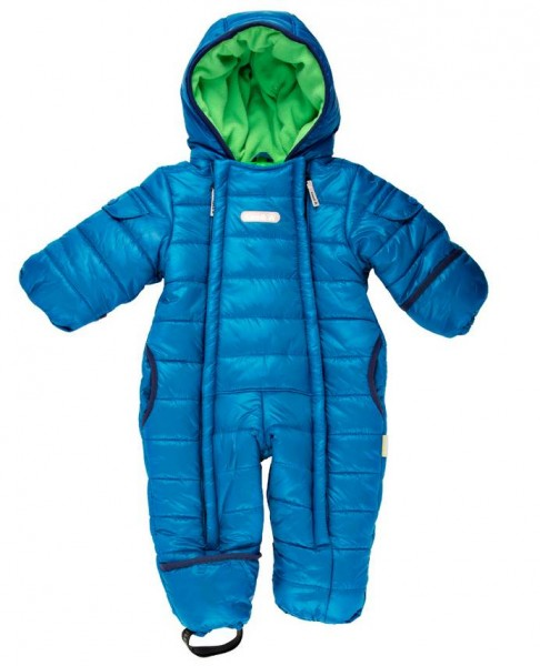Kamik Topaz mykonos blau Baby Thermoanzug Wärmeoverall