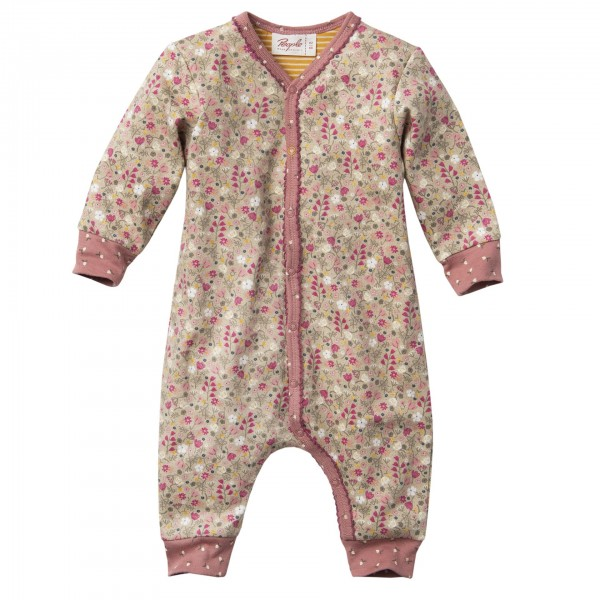 People Wear Organic Baby Overall Herbstblume sand