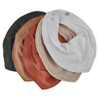 PippiHalstücher 5er Pack Brauntöne Babyhalstücher