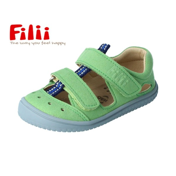 Filii KAIIMAN Sandalen grün Barfußsandalen vegan WEIT