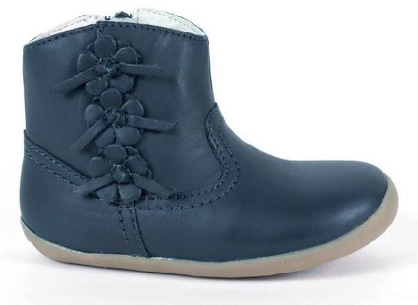 Bobux step Up Mayflower navy Boots Lauflernschuhe Stiefelchen