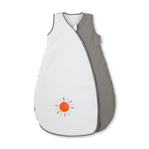 Sterntaler Sommerschlafsack weiß/grau Sonne Gr. 90