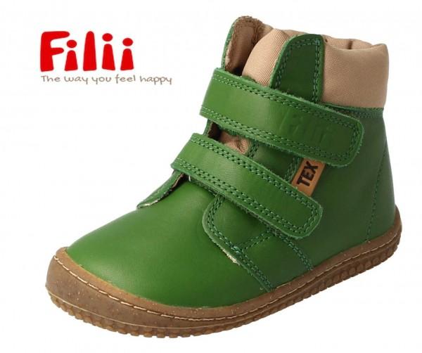 Filii HIMALAYA grün BIO TEX Winterstiefel mit Wollfutter