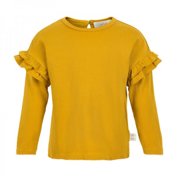 Creamie Mädchen Langarmshirt harvest gold