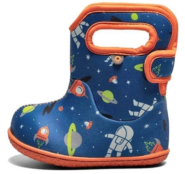 BOGS Baby Bogs Spaceman Neopren Winterstiefel für Laufanfänger