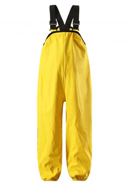Reima LAMMIKKO gelb Buddelhose Matschhose Regenhose mit Trägern