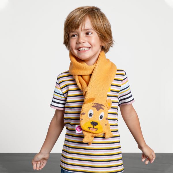Affenzahn Schal Tiger aus Baumwolle