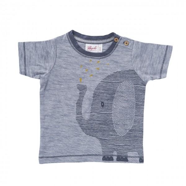 People Wear Organic T-Shirt Elefant grau melange Kurzarm