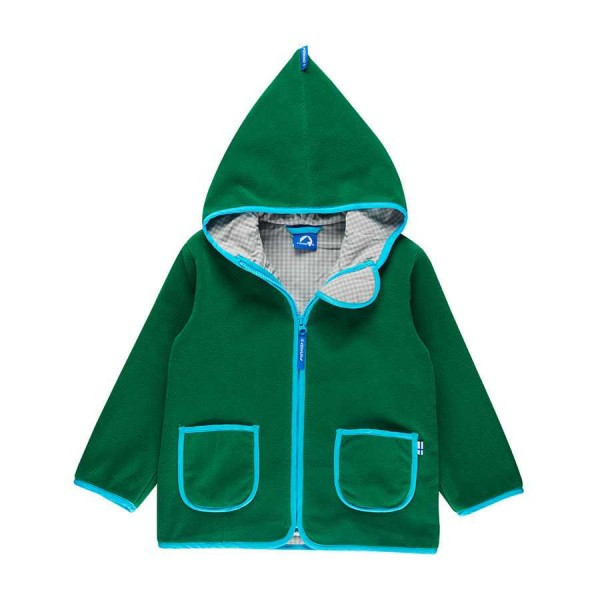 Finkid Tonttu leaf/pool Kinder Fleecejacke
