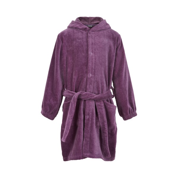 MeToo Mädchen Bademantel Purple Velour