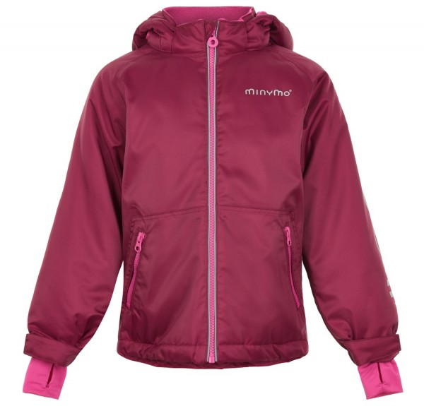 MINYMO Kinder Winterjacke Le90 red plum