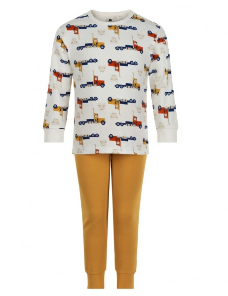Celavi Jungen Schlafanzug Lastwagen Pyjama