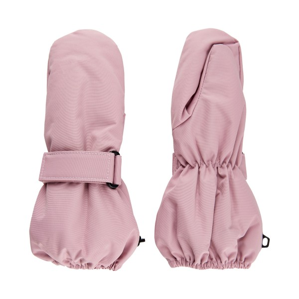 Minymo Mädchen Handschuhe Fäustlinge smoky rosa
