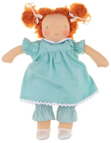 Walkiddy Stoffpuppe Marta Bio Puppe nach Waldorf Art