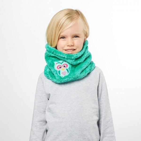 Affenzahn Kinder Schlauchschal Eule Winter Loop Schal