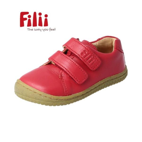 Filii Soft-Walk rot BIO Glattleder Barfußschuhe