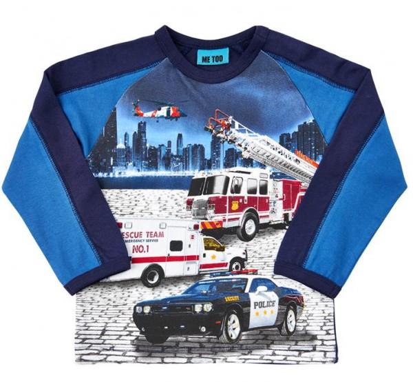 Metoo Langarmshirt Feuerwehr & Rescue Team
