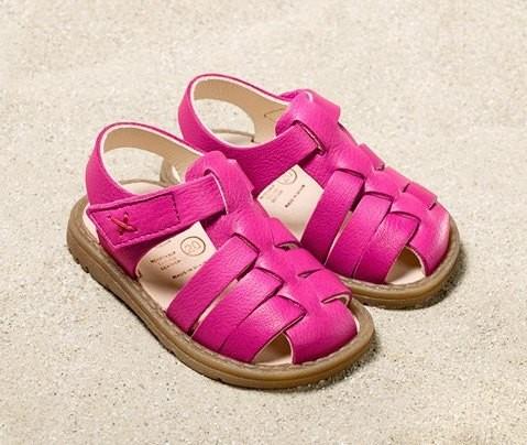 Pololo Fiesta pink Sandalen extra weich