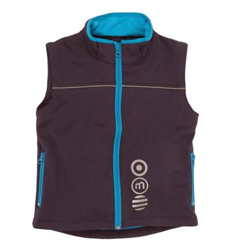 Minymo Softshell Weste Winn92 night blue