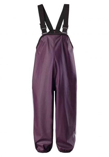 Reima LAMMIKKO purple Buddelhose Matschhose Regenhose mit Trägern