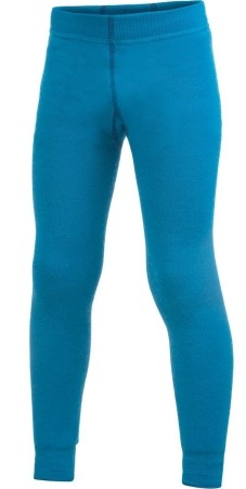 Woolpower Funktions Unterhose dolphin blue Long Johns 200 Legins Wolle Ökotex100