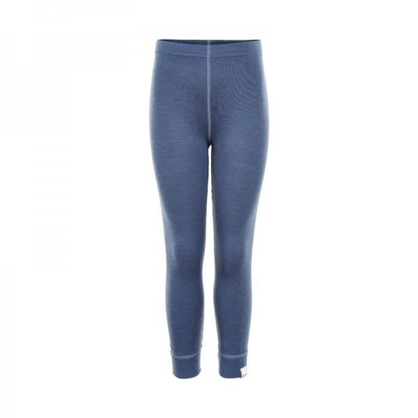 Celavi Leggings jeansblau melange Unterhose Wolle
