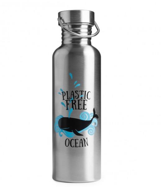 Brotzeit Trinkflasche Edelstahl OCEAN 0,75L