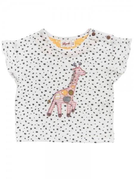People wear Organic Sommer T-Shirt Giraffe weiß Dots