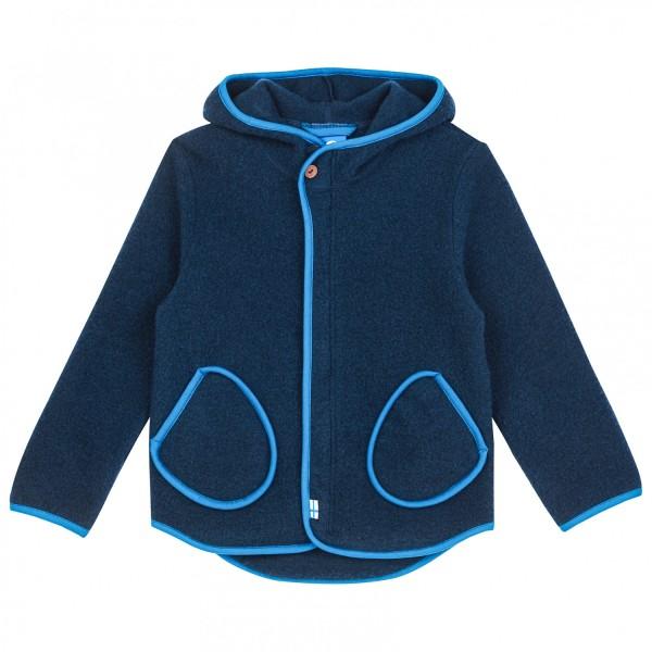 Finkid JUMPPA WOOL navy/nautic Kinder Wollfleece Jacke