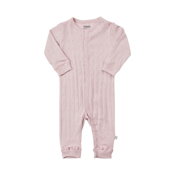 Pippi Baby Overall GOTS violet ice Organic Bio Baumwolle