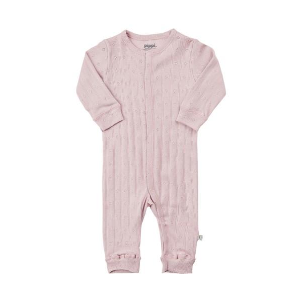 Pippi Baby Overall GOTS smoky rosa Organic Bio Baumwolle
