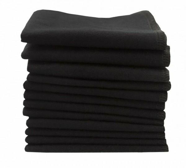 ImseVimse Pflegetücher schwarz 12er Pack wiederverwendbare Feuchttüchery