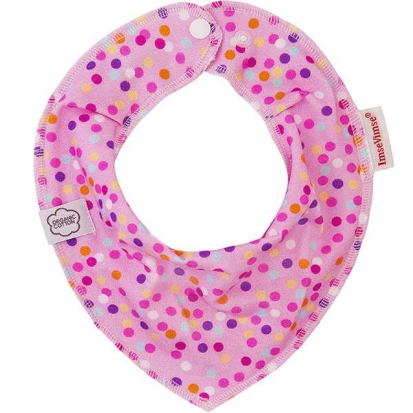 ImseVimse Halstuch pink Bubbles Babyhalstuch