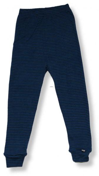 Celavi Legins dunkelblaue lange Unterhose Merino Schurwolle Ökotex100