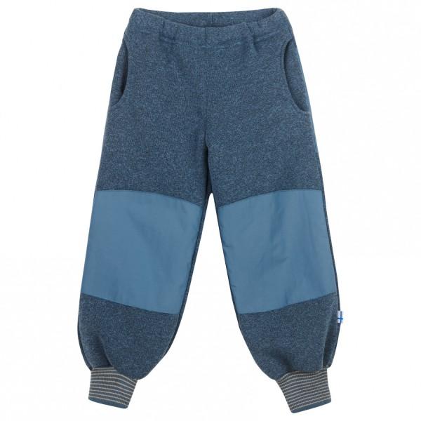 Finkid RETKI SPORT blue mirage Kinder Strickfleecehose verstärkt