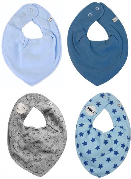 Pippi Babywear Halstücher Rabbit Love 4er Pack