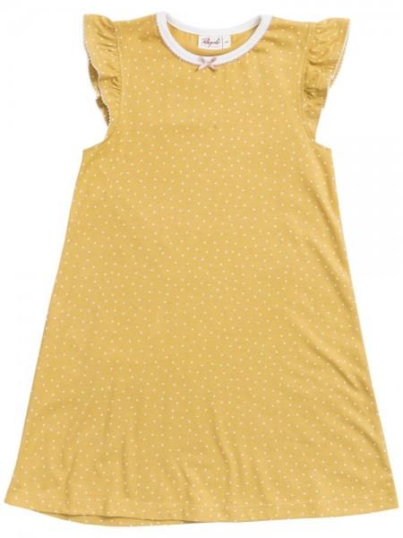 People wear Organic Mädchen Sommer Nachthemd maisgelb
