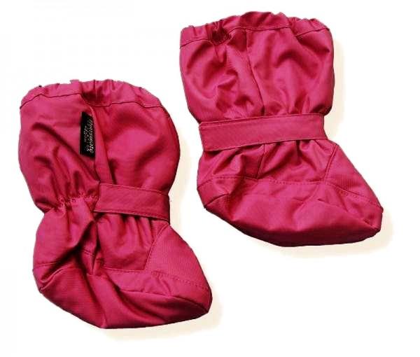 Minymo Nylon Thermo Booties Vega36 pink gefütterte Stiefelchen Footies