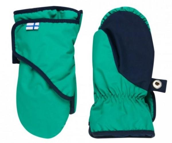Finkid Lapanen emerald/navy Arctic Thermo Handschuhe Fäustlinge wasserfest