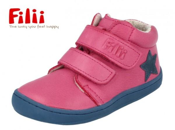 Filii Chameliion pink Mädchenschuhe mit Wollfleece
