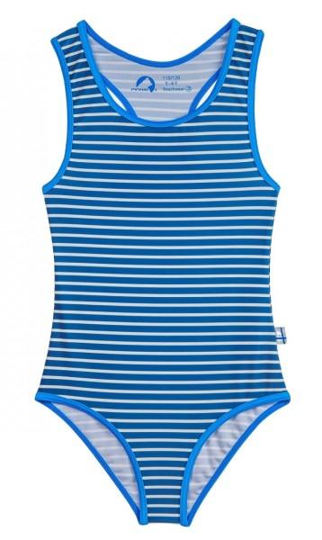 Finkid Niemi Badeanzug denim/offwhite mit UV Schutz