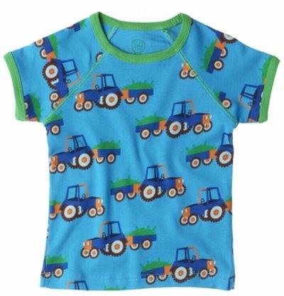 Ej sikke Lej Kinder T-Shirt Traktor Kurzarm