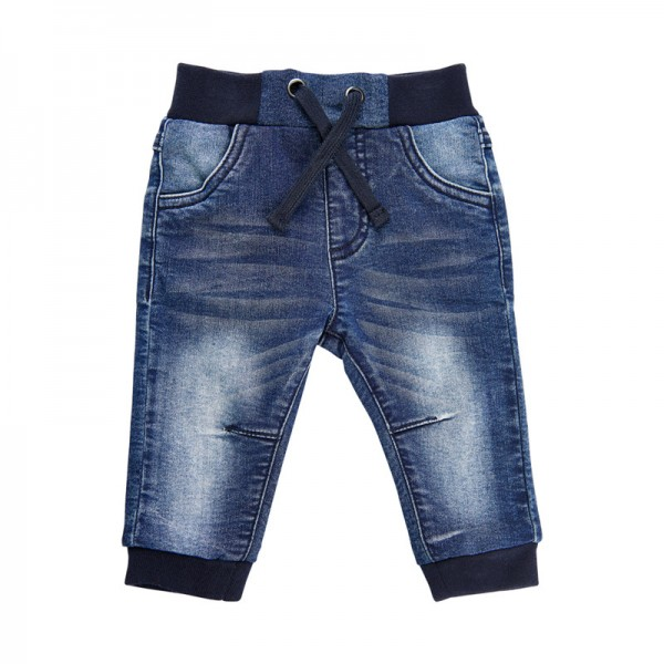 MeToo Baby Stretch Jeans extra weich blue Denim