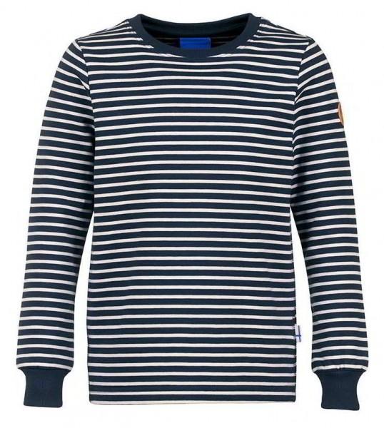 Finkid Rulla Langarmshirt geringelt navy/offwhite