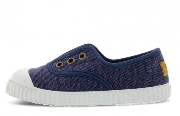 Kavat Fjällbacka Kinder Sneaker blue Sommerschuhe Bio-Baumwolle